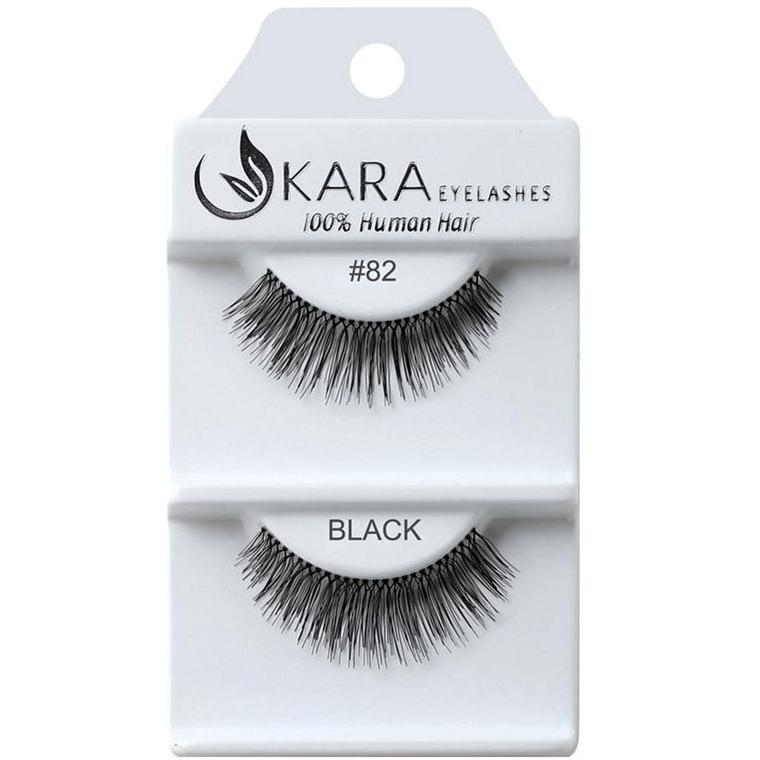 Kara 082 HUMAN HAIR  Eyelashes | Blue Scandal