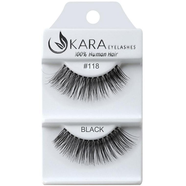 Kara 218 HUMAN HAIR  Eyelashes | Blue Scandal