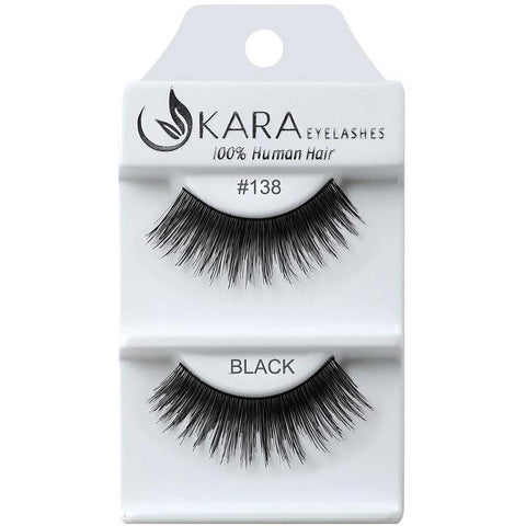 Kara 138 HUMAN HAIR  Eyelashes | Blue Scandal