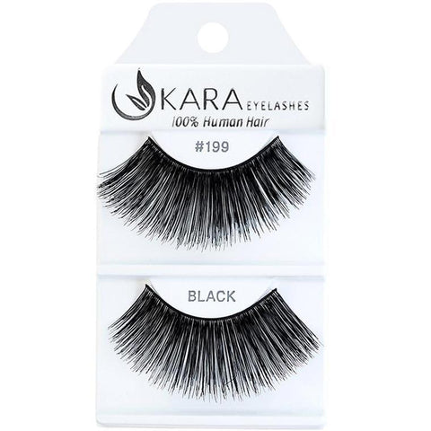 Kara 199 HUMAN HAIR  Eyelashes | Blue Scandal