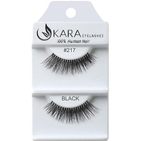 Kara 217 HUMAN HAIR  Eyelashes | Blue Scandal