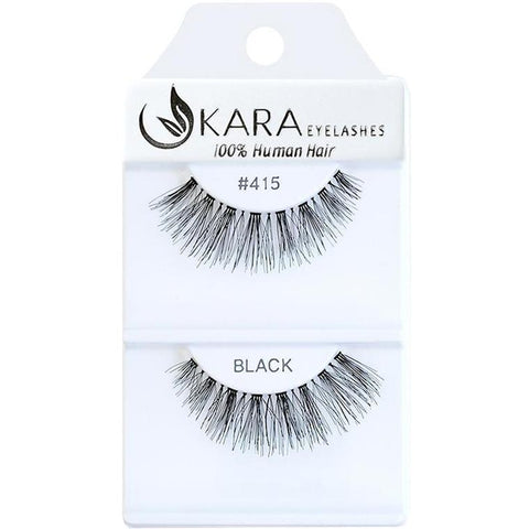 Kara 415 HUMAN HAIR  Eyelashes | Blue Scandal