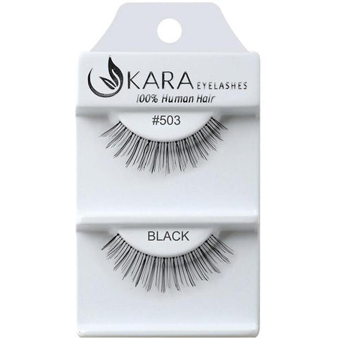 Kara 503 HUMAN HAIR  Eyelashes | Blue Scandal