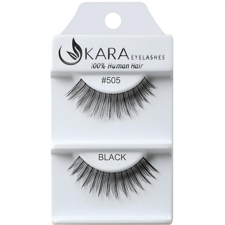 Kara 505 HUMAN HAIR  Eyelashes | Blue Scandal