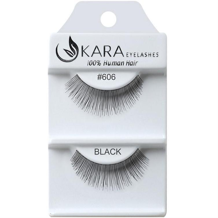 Kara 606 HUMAN HAIR  Eyelashes | Blue Scandal