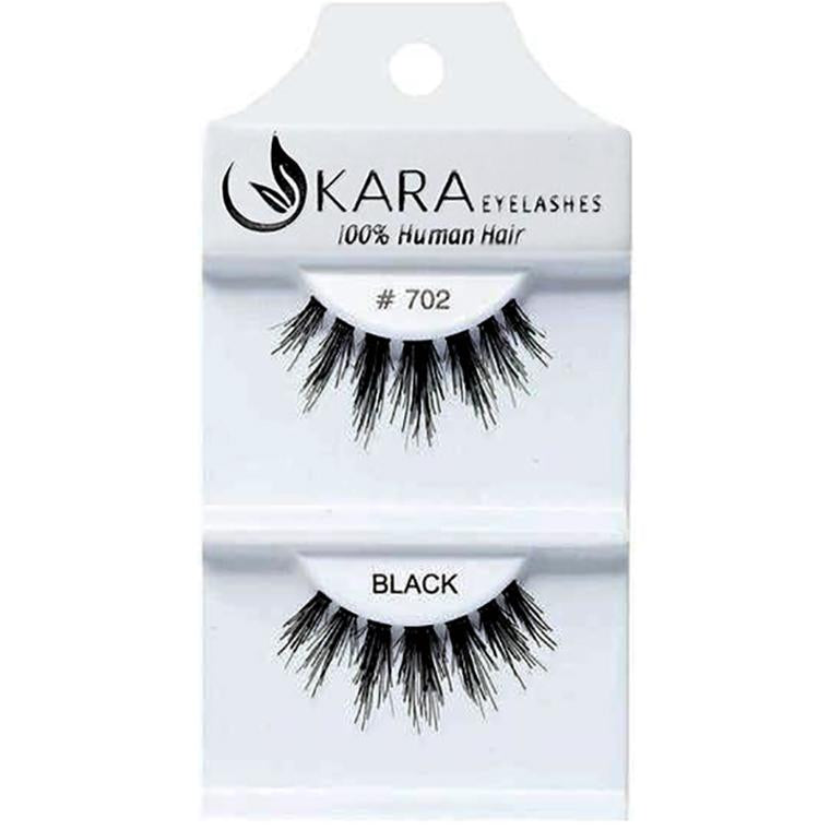 Kara 702 HUMAN HAIR  Eyelashes | Blue Scandal