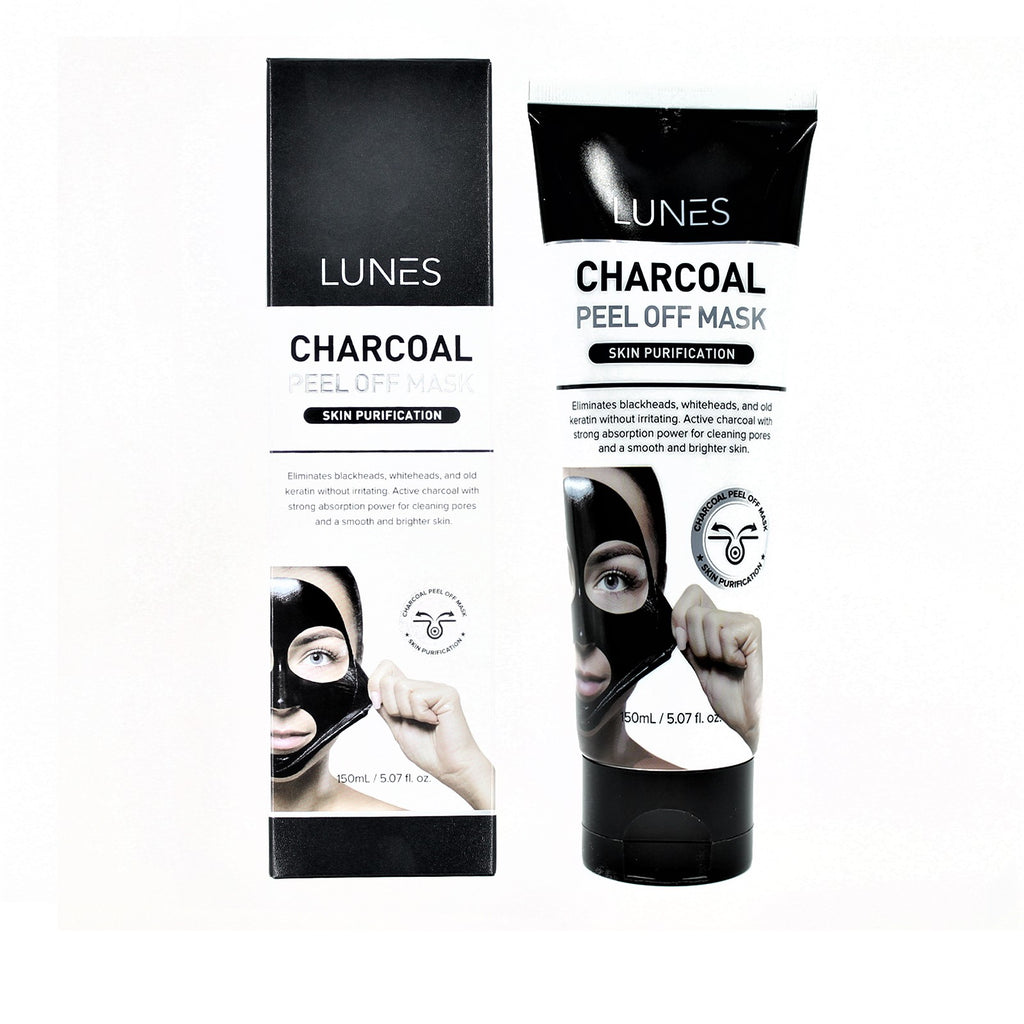 LUNES CHARCOAL Peel off Mask