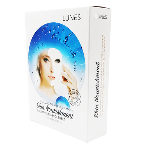 LUNES Collagen Essence Mask (10-Pack)
