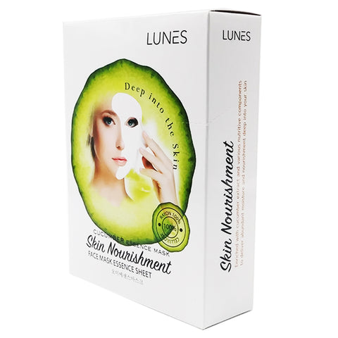 LUNES Cucumber Essence Mask (10-Pack)