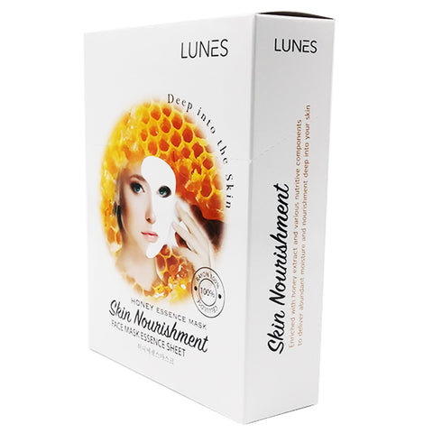 LUNES Honey Essence Mask (10-Pack)