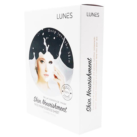 LUNES Milk Essence Mask (10-Pack)