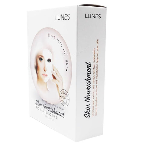 LUNES Pearl Essence Mask (10-Pack)