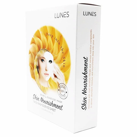 LUNES Snail Essence Mask (10-Pack)