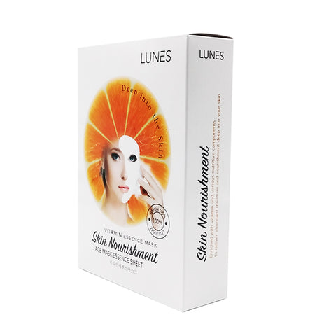 LUNES Vitamin Essence Mask (10-Pack)