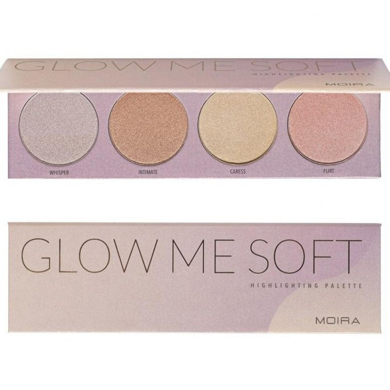 Moira Cosmetics Glow Me Soft Highlighting Palette