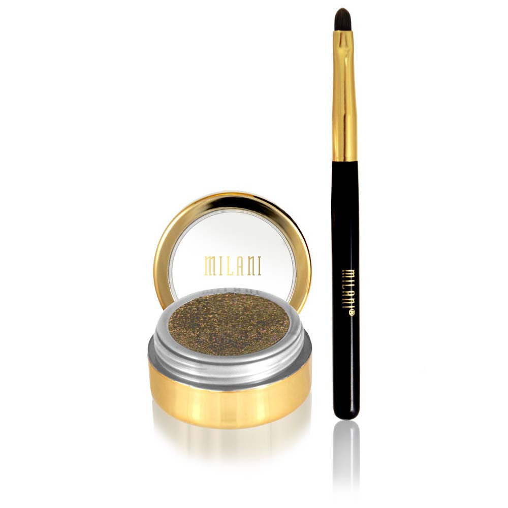 Milani Fierce Foil Eyeliner | Blue Scandal
