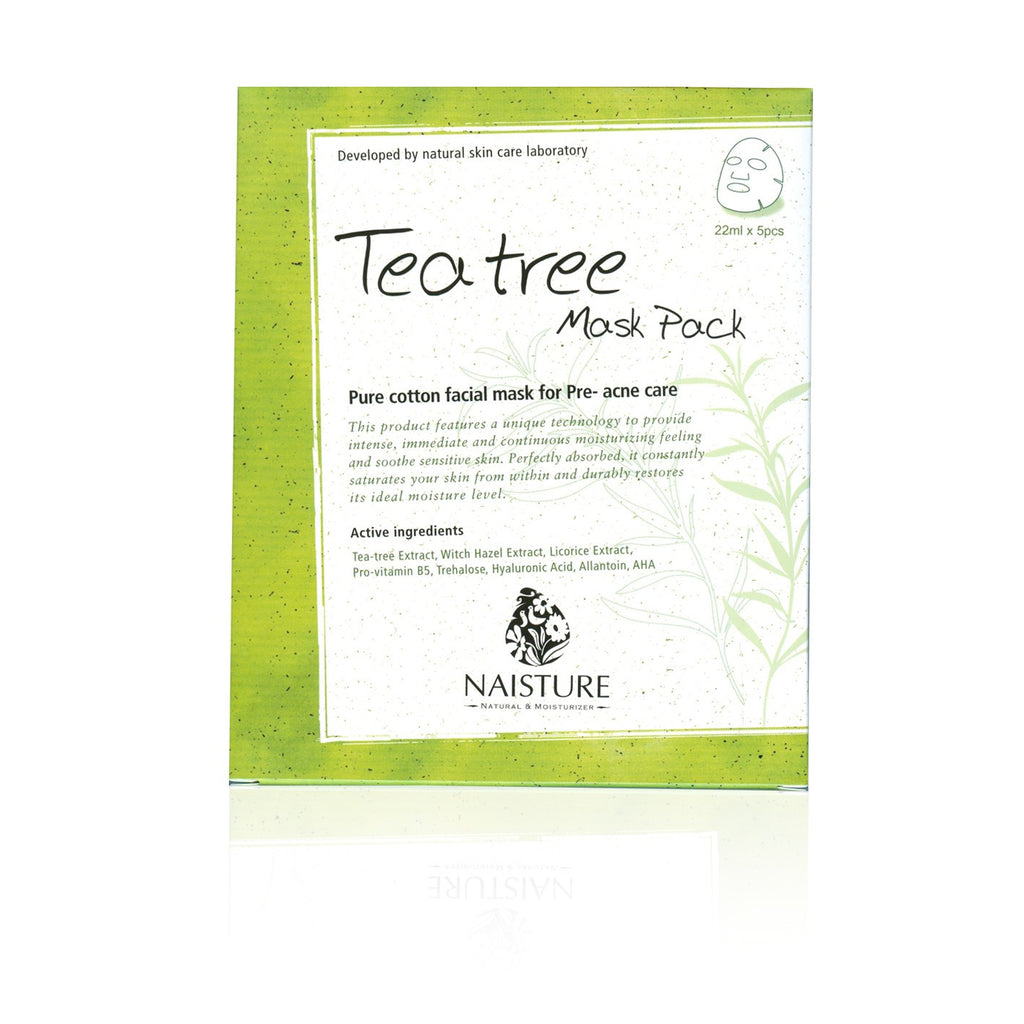 Essence Tea Tree Mask (5 Sheets)