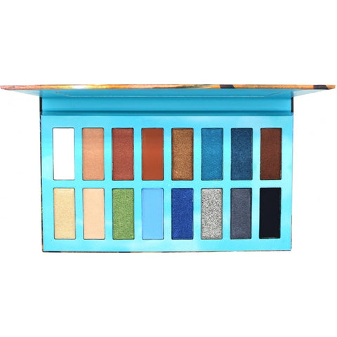 OKALAN Sandbeach 16 Color Shadow Palette E060