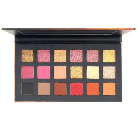 OKALAN Desert Dusk 18 Color Shadow Palette E056