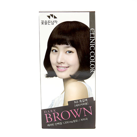 Clinic Color Black Brown N3