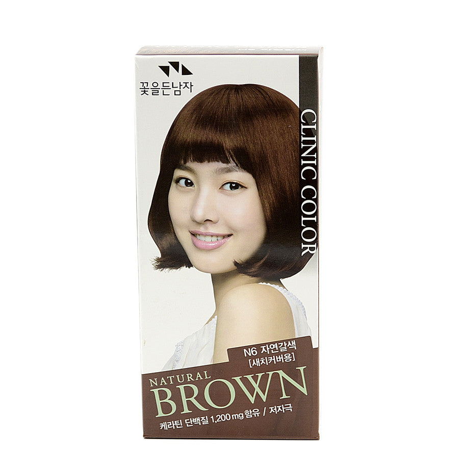Somang Clinic Color Natural Brown N6 | Blue Scandal