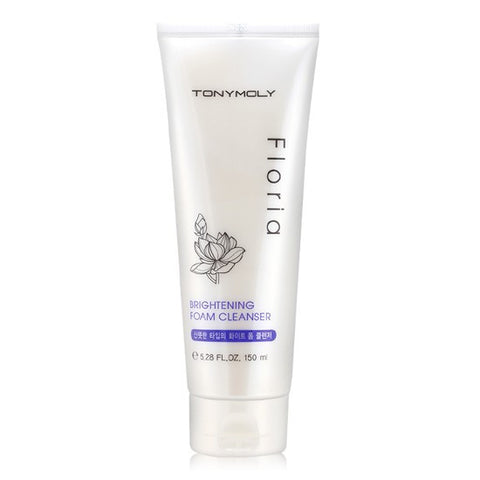 Tony Moly Floria Brightening Foam Cleanser | Blue Scandal