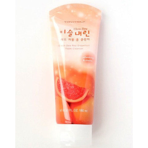 Tony Moly Clean Dew Red Grapefruit Foam Cleanser | Blue Scandal