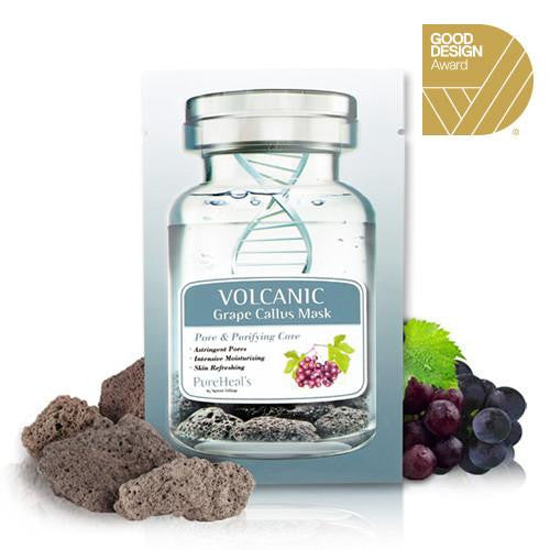 Pure Heals Volcanic & Grape Callus Sheet Mask | Blue Scandal
