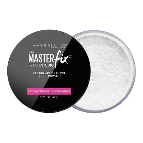 Maybelline FaceStudio Master Fix Setting + Perfecting Loose Powder | Blue Scandal