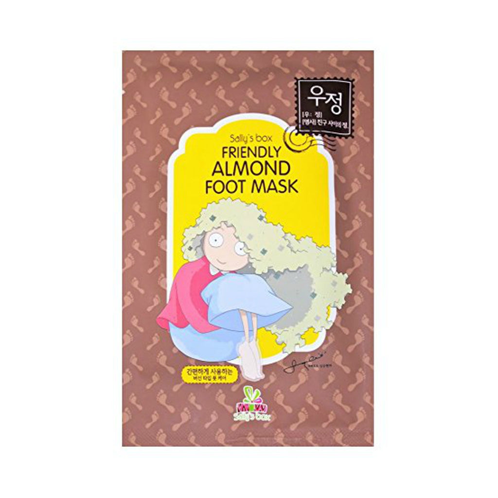 Friendly Almond Foot Mask