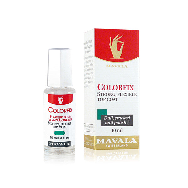 Mavala Colorfix Top Coat | Blue Scandal