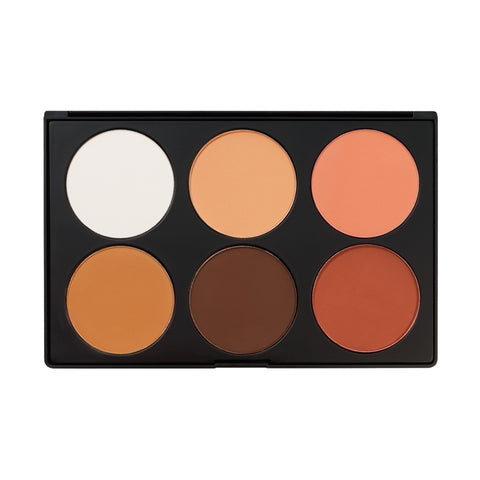 Contour & Blush 2 - 6 Color Palette