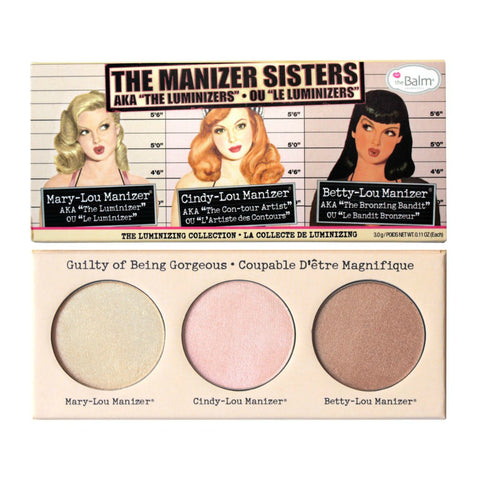 theBalm The Manizer Sisters | Blue Scandal