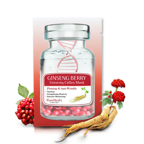 Ginseng Berry & Ginseng Callus Sheet Mask (5 pack)