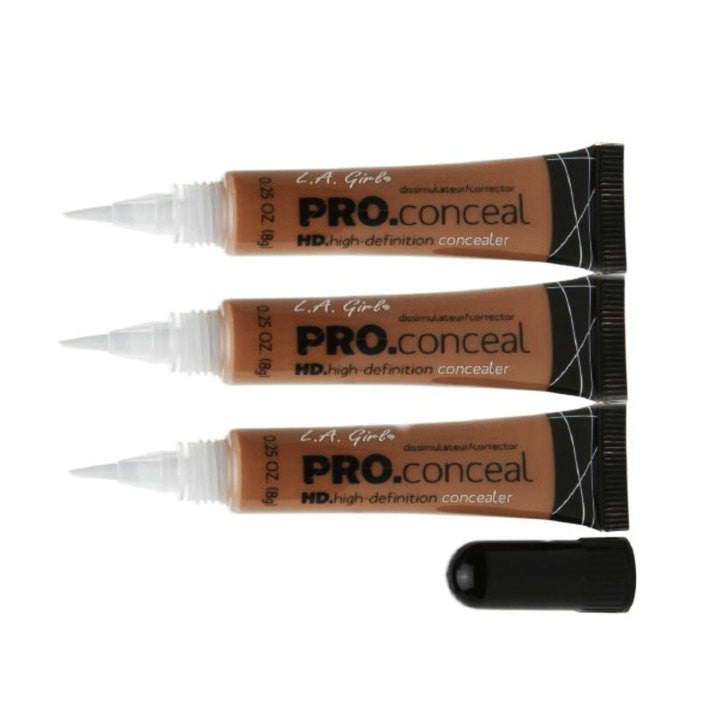 L.A. Girl L.A. Girl HD Pro Conceal - Toffee (Pack of 3) | Blue Scandal