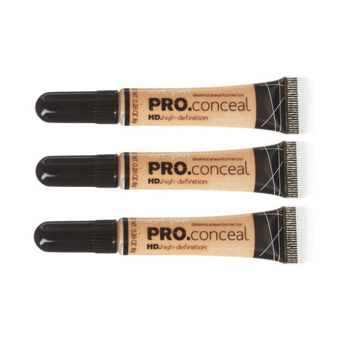 L.A. Girl HD Pro Conceal - Creamy Beige (Pack of 3) | Blue Scandal