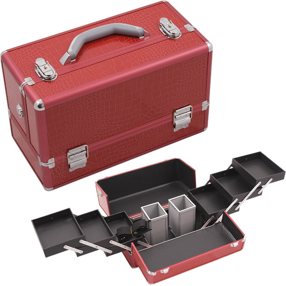 Red Croc Pro Makeup Case - HK3201