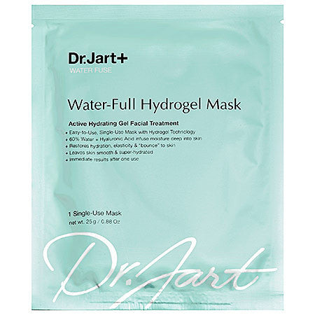 Dr. Jart Water Fuse Water-Full Hydrogel Mask (5-Pack) | Blue Scandal