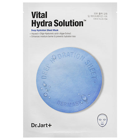 Dr. Jart Dermask Vital Hydra Solution Deep Hydration Sheet Mask | Blue Scandal
