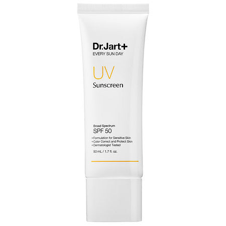 Dr. Jart Every Sun Day UV Sunscreen Broad Spectrum SPF 50 | Blue Scandal