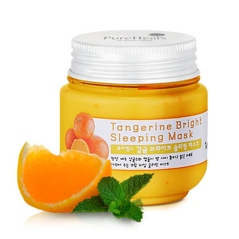Pure Heals Tangerine Bright Sleeping Mask | Blue Scandal