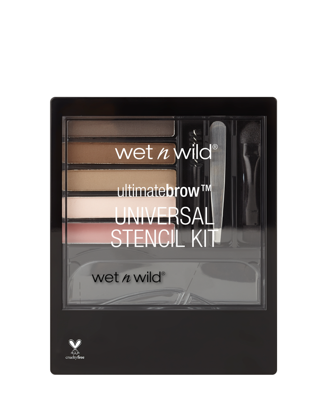 wet n wild Ultimate Brow™ Universal Stencil Kit | Blue Scandal