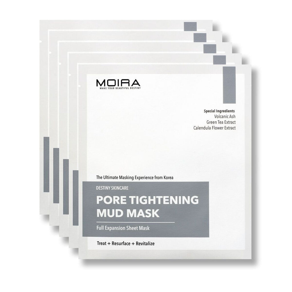 Pore Tightening Mud Mask Set (5 sheets)