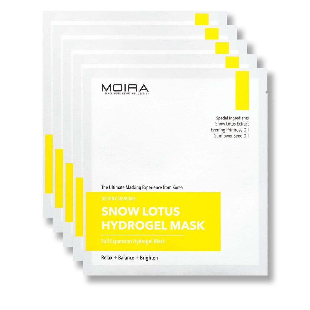 Snow Lotus Hydrogel Mask Set (5 Sheets)
