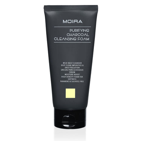 MOIRA Purifying Charcoal Cleansing Foam | Blue Scandal