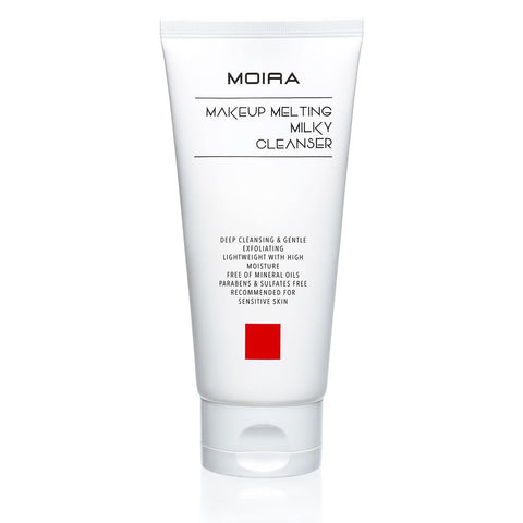 MOIRA Makeup Melting Milky Cleanser | Blue Scandal