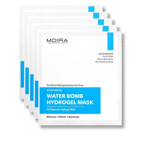 Water Bomb Hydrogel Mask Set (5 Sheets)