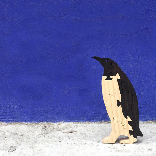 Wooden Puzzle - Penguin