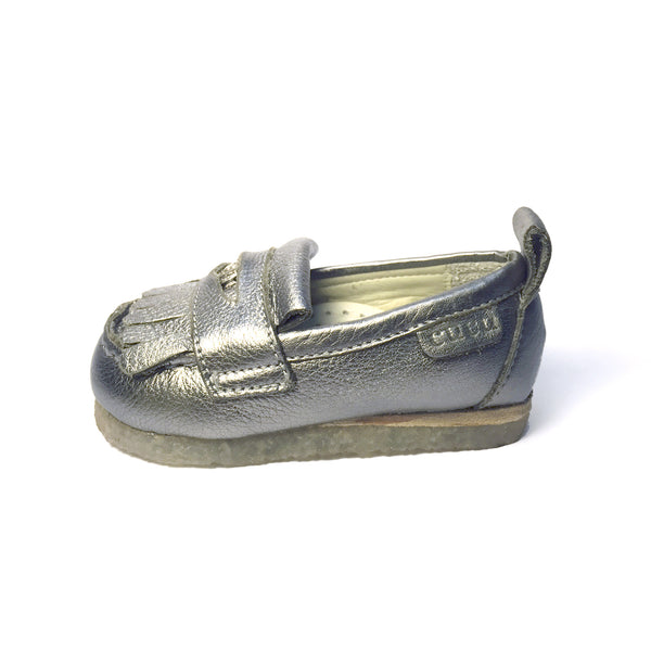 Peso Loafer - Silver Coin