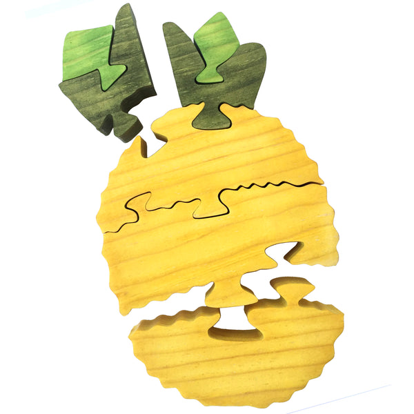 Wooden Puzzle - Pineapple